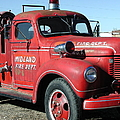 Fire Engine Red by Nancy Taylor