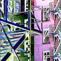 Fire Escape 2 by Tim Allen
