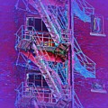 Fire Escape 4 by Tim Allen