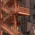 Fire Escape And Platforms by Bob Phillips