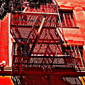 Fire Escape by Gwyn Newcombe