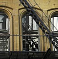 Fire Escape On Franklin Street by Sarah Loft