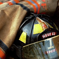 Fire Fighter - Hose Company One by Mike Savad