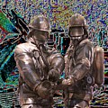 Fire Fighters Memorial Seattle by Tim Allen