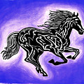 Fire Horse 2 by Peter Paul Lividini