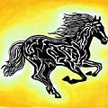 Fire Horse 3 by Peter Paul Lividini