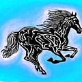 Fire Horse 5 by Peter Paul Lividini