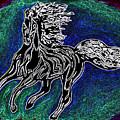 Fire Horse Burn 3 by Peter Paul Lividini