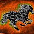 Fire Horse Neona 4 by Peter Paul Lividini