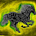 Fire Horse Neona 5 by Peter Paul Lividini