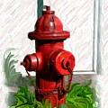 Fire Hydren by Jim  Darnall