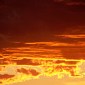 Fire In The Sky 3 by Brian  Commerford
