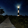 Fire Island Lighthouse At Night by Alissa Beth Photography