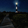 Fire Island Lighthouse Path At Night by Alissa Beth Photography