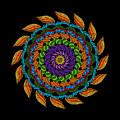 Fire Mandala by Becky Herrera