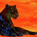Fire Panther  by Sherry Shipley