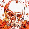 Fire Skull by Dan Sproul