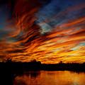 Fire Sky by Saija  Lehtonen
