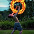 Fire Spinner by Mark Miller