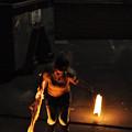 Fire Throw by Joseph  Cusano IV