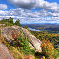 Fire Tower On Bald Mountain by David Patterson