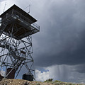 Fire Tower On Bald Mountain Surrounded by Rich Reid