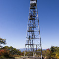 Fire Watch Tower Overlook Mountain by Phil Welsher