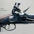 Firearms 1746 British Flintlock Horse Pistol by Thomas Woolworth