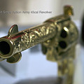 Firearms Gold Colt Single Action Army 45cal Revolver by Thomas Woolworth