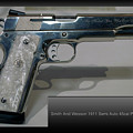 Firearms Smith And Wesson 1911 Semi Auto 45cal Pearl Handle Pistol by Thomas Woolworth