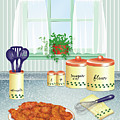 Fried Chicken by Linda Carruth