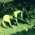 Fired On  by Frederic Sackrider Remington