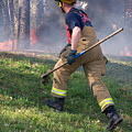 Firefighter 2901 by Francesa Miller