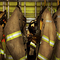 Firefighter - Bunker Gear by Mike Savad