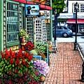 Firefly Lane Bar Harbor Maine by Eileen Patten Oliver