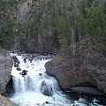 Firehole Falls by Charles Robinson