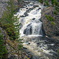 Firehole Falls by Cindy Murphy - NightVisions