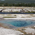 Firehole River And Pool by Steve Aserkoff
