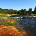 Firehole River Colors by Christiane Schulze Art And Photography