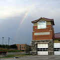 Firehouse Ranibow by Amy Hosp