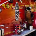 Fireman - Engine No 2  by Mike Savad