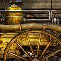 Fireman - Piano Engine - 1855  by Mike Savad