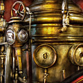 Fireman - The Steam Boiler  by Mike Savad