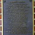 Fireman's Prayer by Ed Weidman
