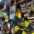 Firemen Always Ready For Duty - Fire Station - Union New Jersey by Lee Dos Santos