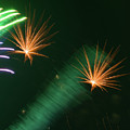 Firework Abstract by Zina Stromberg