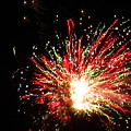 Firework Christmas Sparkle by Adrienne Wilson
