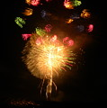 Fireworks-2 by Janet Dickinson
