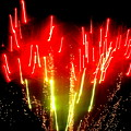 Fireworks Abstraction 6 by Beth Akerman