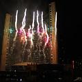 Fireworks At Toronto City Hall by Nina Silver